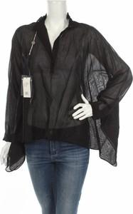 Czarna bluzka Veronique Branquinho w stylu boho z długim rękawem