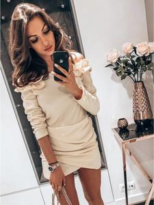 Sukienka magmac.pl w stylu casual z długim rękawem mini