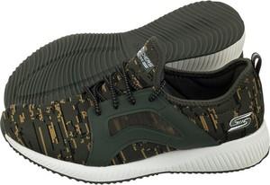 Zielone buty sportowe Skechers w sportowym stylu