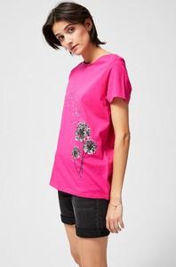 T-shirt Moodo z krótkim rękawem z bawełny