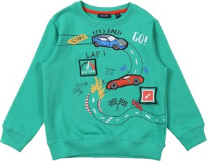 Zielona bluza dziecięca Blue Seven
