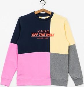 Bluza Vans w stylu casual krótka z żakardu