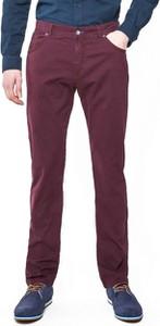 Czerwone spodnie Roy z tkaniny