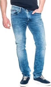 Niebieskie jeansy Hilfiger Denim z jeansu
