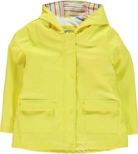 Żółta kurtka dziecięca Crafted