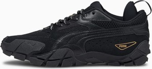 Buty sportowe Puma z płaską podeszwą z zamszu