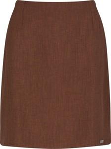 Brązowa spódnica Figl