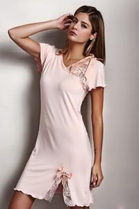 Pomarańczowa piżama Softcotton