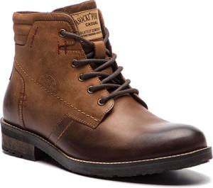 Buty zimowe Lasocki For Men sznurowane w stylu casual