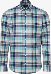 Koszula Andrew James w stylu casual z długim rękawem z kołnierzykiem button down