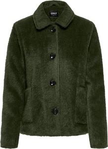 Zielona kurtka Only w stylu casual