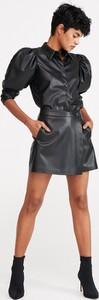 Czarna spódnica Reserved mini w stylu casual