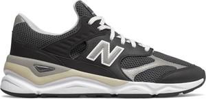Czarne buty sportowe New Balance ze skóry