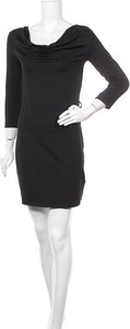 Czarna sukienka Flame w stylu casual mini