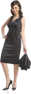 Sukienka Fokus kopertowa midi z szyfonu