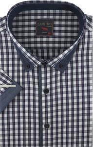 Koszula Laviino z krótkim rękawem w stylu casual