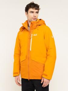 Pomarańczowa kurtka Jack Wolfskin w stylu casual