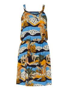Sukienka Tom Tailor Denim z okrągłym dekoltem w stylu casual