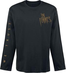 Czarny t-shirt Emp z długim rękawem