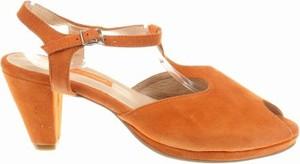 Brązowe sandały Andrea Conti z klamrami