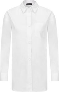 Koszula Emporio Armani z tkaniny z długim rękawem