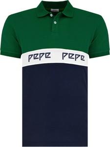 Koszulka polo Pepe Jeans z bawełny