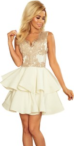 Sukienka NUMOCO z tkaniny rozkloszowana bez rękawów