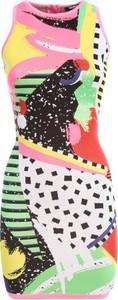 Sukienka Balmain mini bez rękawów