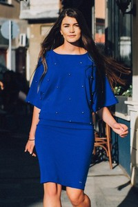 Niebieska bluzka Bien Fashion