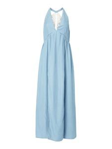 Sukienka Guess maxi z dekoltem w kształcie litery v bez rękawów