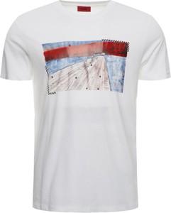 T-shirt Hugo Boss z nadrukiem