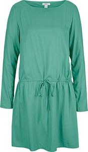 Bluzka bonprix z długim rękawem w stylu casual z okrągłym dekoltem