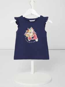 Niebieska bluzka dziecięca Mayoral z bawełny