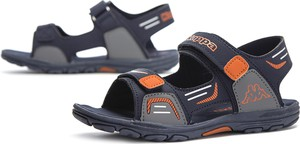 Granatowe buty dziecięce letnie Kappa na rzepy