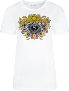 T-shirt Silvian Heach w młodzieżowym stylu z krótkim rękawem