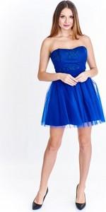 Sukienka Tęcza2 bez rękawów z tiulu