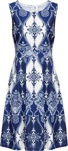 Sukienka bonprix BODYFLIRT boutique trapezowa