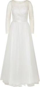Sukienka Mascara maxi z długim rękawem
