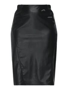Czarna spódnica Persona by Marina Rinaldi ze skóry midi