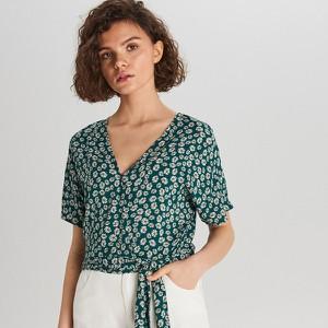 Bluzka Cropp z krótkim rękawem