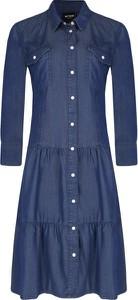 Sukienka Twinset koszulowa z długim rękawem