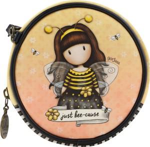Santoro żółte etui/pokrowiec dziecięcy Gorjuss Bee-Loved (Just Bee-Cause)