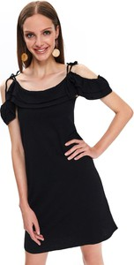 Sukienka Top Secret z krótkim rękawem z dzianiny
