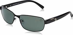 amazon.de Timberland TB9127 męskie okulary przeciwsłoneczne, czarne (Black/Other/Green Polarized), 62