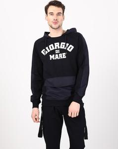 Czarny sweter Giorgio Di Mare