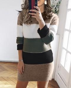 Sukienka Kendallme mini w stylu casual z długim rękawem