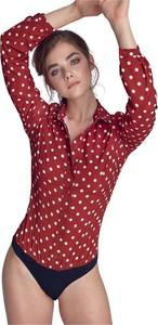 Czerwona koszula Nife w stylu casual