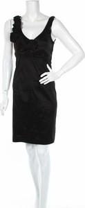 Czarna sukienka Jfw z dekoltem w kształcie litery v