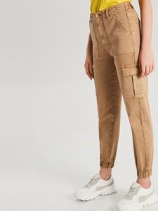 Brązowe jeansy Cropp