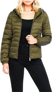 Zielona kurtka Only w stylu casual krótka